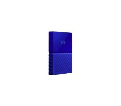 Фото №1 жесткого диска Western Digital My Passport 1TB 5400rpm 2.5 USB 3.0 External Blue — WDBYNN0010BBL-WESN