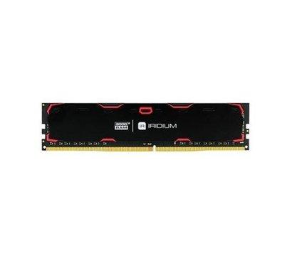 Фото №1 модуля памяти Goodram Iridium Black DDR4 2x4096Mb 2400MHz — IR-2400D464L17S/8GDC