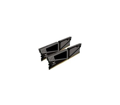 Фото №1 модуля памяти Team T-Force Vulcan Gray DDR4 2x4096Mb 3200MHz — TLGD48G3200HC16CDC01