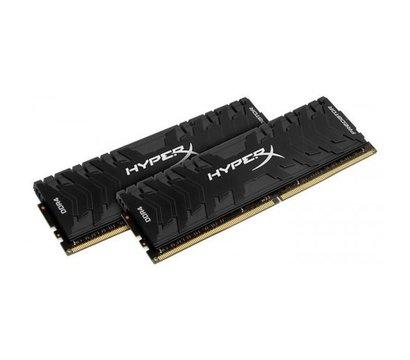 Фото №1 модуля памяти Kingston HyperX Predator Black DDR4 2x8192Mb 3333MHz — HX433C16PB3K2/16
