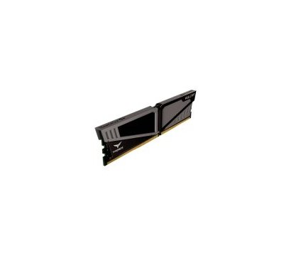 Фото №1 модуля памяти Team T-Force Vulcan Gray DDR4 4096Mb 2400MHz — TLGD44G2400HC1401