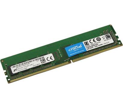 Фото №1 модуля памяти Crucial Micron DDR4 8192M 2400MHz — CT8G4DFS824A