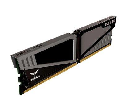 Фото №1 модуля памяти Team T-Force Vulcan Gray DDR4 8192Mb 2400MHz — TLGD48G2400HC1401
