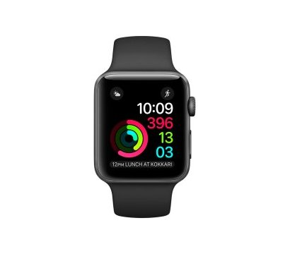 Фотография 2 товара Смарт-часы Apple Watch Space Gray Aluminum Case with Black Sport Band — MP0D2