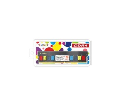 Фото №1 модуля памяти V-Color Colorful DDR4 4096MB PC4-19200 — TC44G24S817