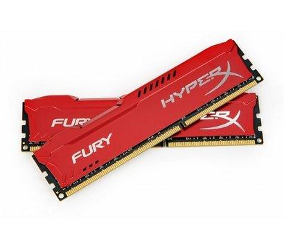 Фотография 2 комплектующего ПК Память Kingston HyperX Fury Red DDR3 2x8192Mb 1600MHz — HX316C10FRK2/16
