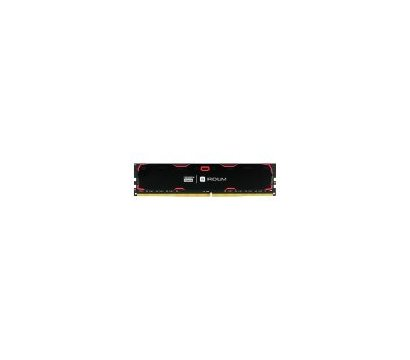 Фото №1 модуля памяти Goodram Iridium Black DDR4 16384Mb 2133MHz — IR-2133D464L15/16G