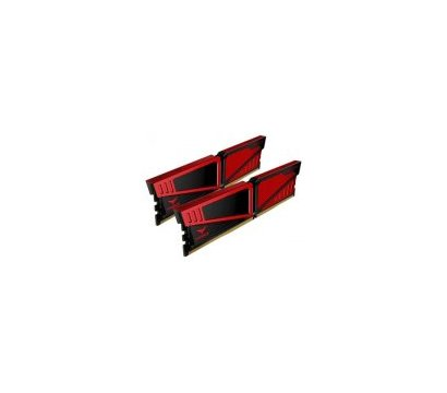 Фото №1 модуля памяти Team T-Force Vulcan Red DDR4 2x16384Mb 2400MHz — TLRED432G2400HC15BDC01