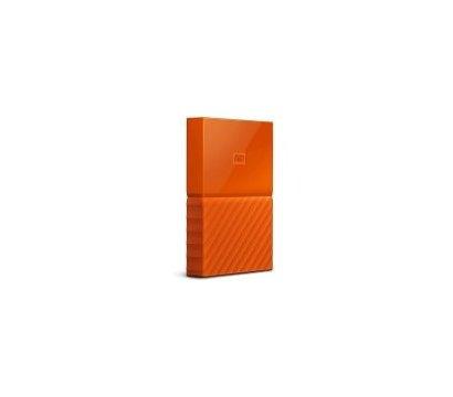 Фото №1 жесткого диска Western Digital My Passport 1TB 5400rpm 2.5 USB3.0 External Orange — WDBYNN0010BOR-WESN
