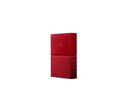 Фото №2 жесткого диска Western Digital My Passport 3TB 5400rpm 2.5 USB 3.0 External Red — WDBYFT0030BRD-WESN