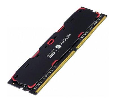 Фото №2 модуля памяти Goodram Iridium Black DDR4 2x4096Mb 2400MHz — IR-2400D464L15S/8GDC