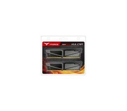 Фото №2 модуля памяти Team T-Force Vulcan Gray DDR4 2x4096Mb 2400MHz — TLGD48G2400HC14DC01