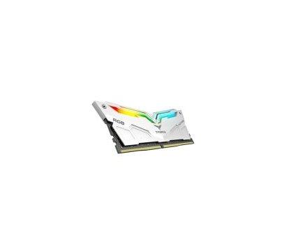 Фото №2 модуля памяти Team T-Force Night Hawk White RGB DDR4 2x8192Mb 3000MHz — TF2D416G3000HC16CDC01