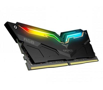 Фото №2 модуля памяти Team T-Force Night Hawk Black RGB DDR4 2x8192Mb 3200MHz — TF1D416G3200HC16CDC01