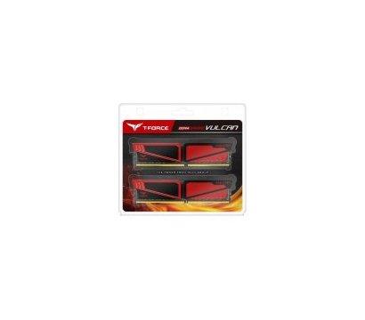 Фотографія 3 комплектующего ПК Память Team T-Force Vulcan Red DDR4 2x8192Mb 3200MHz — TLRED416G3200HC16CDC01