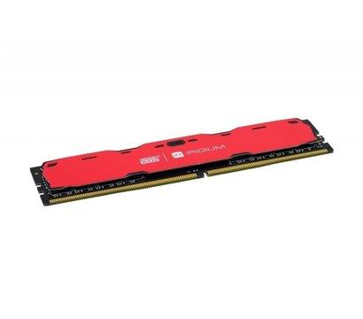 Фото №2 модуля памяти Goodram Iridium Red DDR4 8192Mb 2400MHz — IR-R2400D464L15S/8G