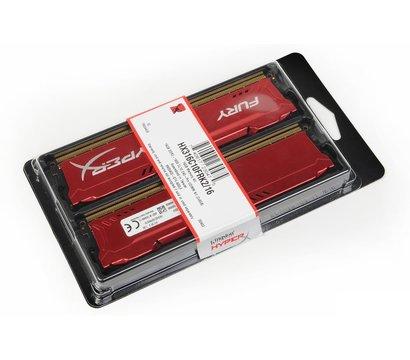 Фотография 3 комплектующего ПК Память Kingston HyperX Fury Red DDR3 2x8192Mb 1600MHz — HX316C10FRK2/16