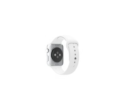 Фотография 4 товара Смарт-часы Apple Watch Silver Aluminum Case with White Sport Band — MNPJ2