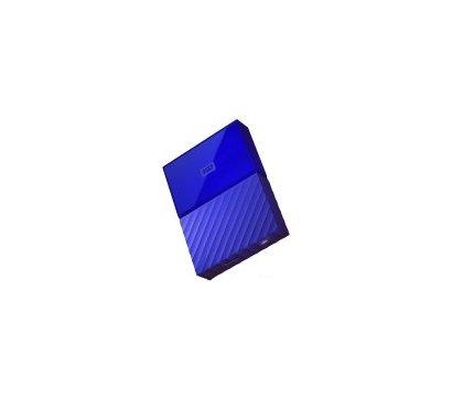 Фотографія 4 товара Жесткий диск Western Digital My Passport 2TB 5400rpm 2.5 USB 3.0 External Blue — WDBYFT0020BBL-WESN