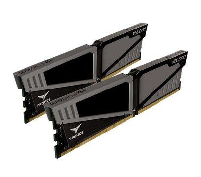 Фотография 4 комплектующего ПК Память Team T-Force Vulcan Gray DDR4 2x16384Mb 2666MHz — TLGD432G2666HC15BDC01