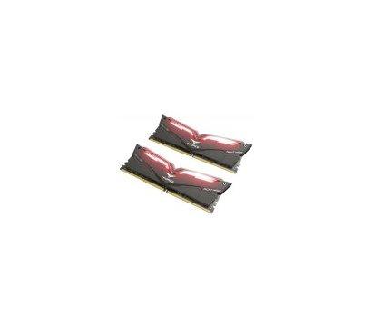 Фото №3 модуля памяти Team T-Force Night Hawk Black LED/Red DDR4 2x16384Mb 3000MHz — THRD432G3000HC16CDC01