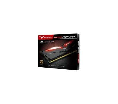 Фотографія 4 комплектующего ПК Память Team T-Force Night Hawk Black LED/White DDR4 2x16384Mb 3000MHz — THWD432G3000HC16CDC01