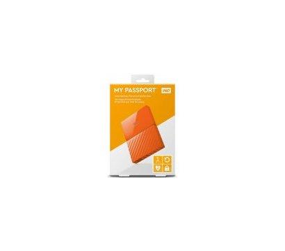 Фото №3 жесткого диска Western Digital My Passport 1TB 5400rpm 2.5 USB3.0 External Orange — WDBYNN0010BOR-WESN