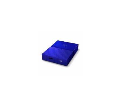 Фото №5 жесткого диска Western Digital My Passport 3TB 5400rpm 2.5 USB 3.0 External Blue — WDBYFT0030BBL-WESN