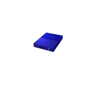 Фото №5 жесткого диска Western Digital My Passport 1TB 5400rpm 2.5 USB 3.0 External Blue — WDBYNN0010BBL-WESN