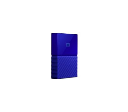 Фото №1 жесткого диска Western Digital My Passport 4TB 5400rpm 2.5 USB 3.0 External Blue — WDBYFT0040BBL-WESN