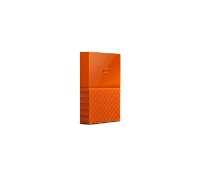 Фото №1 жесткого диска Western Digital My Passport 4TB 5400rpm 2.5 USB3.0 External Orange — WDBYFT0040BOR-WESN