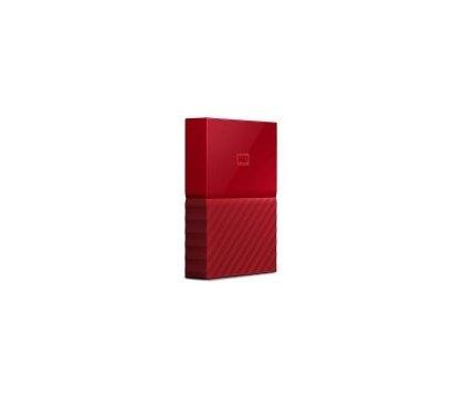 Фото №1 жесткого диска Western Digital My Passport 4TB 5400rpm 2.5 USB 3.0 External Red — WDBYFT0040BRD-WESN