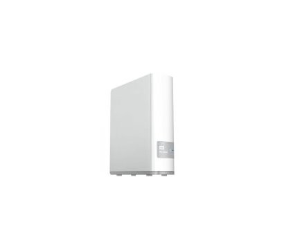 Фото №1 сетевого накопителя (NAS) Western Digital My Cloud 8TB 3.5 LAN/USB 3.0 — WDBCTL0080HWT-EESN