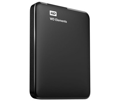 Фото №1 жесткого диска Western Digital Elements Desktop 500GB 2.5 USB 3.0 External Black — WDBUZG5000ABK-WESN