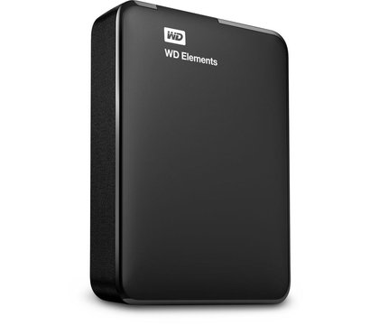 Фото №1 жесткого диска Western Digital Elements 2TB 2.5 USB 3.0 External Black — WDBU6Y0020BBK-WESN