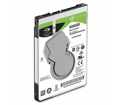 Фото №1 жесткого диска Seagate Barracuda 500GB 5400rpm 128MB Buffer SATA III — ST500LM030