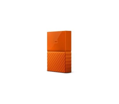 Фото №2 жесткого диска Western Digital My Passport 4TB 5400rpm 2.5 USB3.0 External Orange — WDBYFT0040BOR-WESN