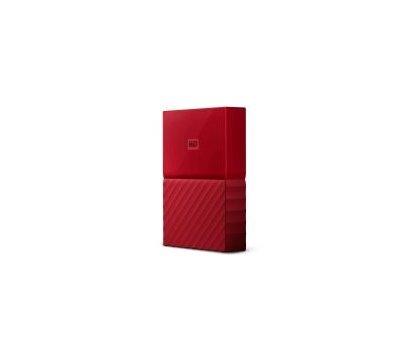 Фото №2 жесткого диска Western Digital My Passport 4TB 5400rpm 2.5 USB 3.0 External Red — WDBYFT0040BRD-WESN