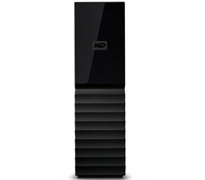 Фото №2 жесткого диска Western Digital My Book 8TB 3.5 USB 3.0 External Black — WDBBGB0080HBK-EESN