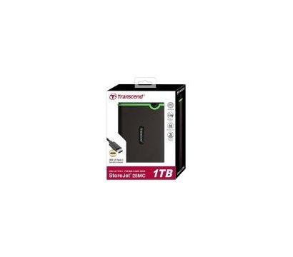 Фото №2 жесткого диска Transcend StoreJet 25MC 1TB 5400rpm 2.5 USB 3.0 Type C External Black — TS1TSJ25MC