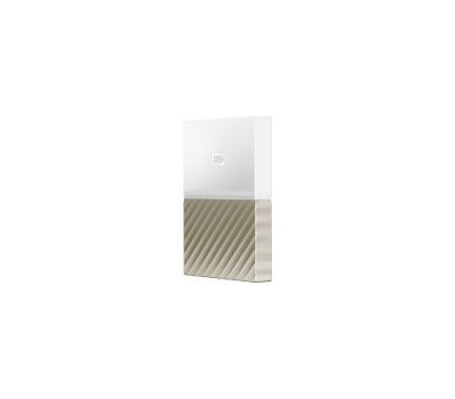 Фото №2 жесткого диска Western Digital My Passport Ultra 1TB 2.5 USB 3.0 White/Gold — WDBTLG0010BGD-WESN