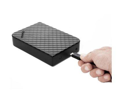 Фото №4 жесткого диска Verbatim Store n Save 4Tb 5400rpm 3.5 USB 3.0 External Black — 47685