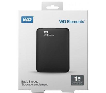 Фото №4 жесткого диска Western Digital Elements 1TB 2.5 USB 3.0 External Black — WDBUZG0010BBK-WESN