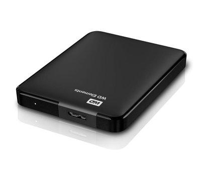 Фото №5 жесткого диска Western Digital Elements Desktop 500GB 2.5 USB 3.0 External Black — WDBUZG5000ABK-WESN