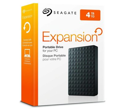 Фото №6 жесткого диска Seagate Expansion 4TB 2.5 USB 3.0 External Black — STEA4000400