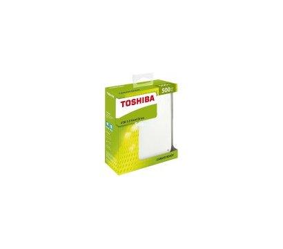 Фото №6 жесткого диска Toshiba Canvio Ready 500GB  2.5 USB 3.0 External White — HDTP205EW3AA