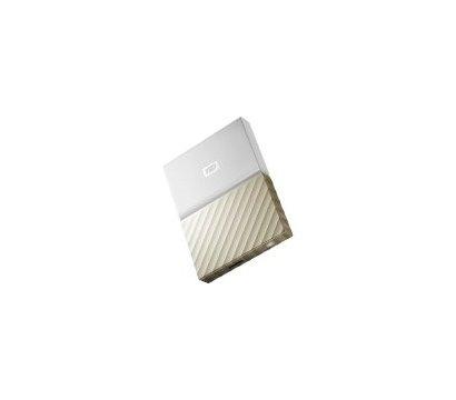 Фото №7 жесткого диска Western Digital My Passport Ultra 2TB 2.5 USB 3.0 White/Gold — WDBFKT0020BGD-WESN