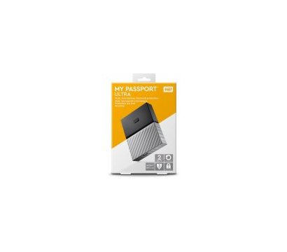 Фото №7 жесткого диска Western Digital My Passport Ultra 2TB 2.5 USB 3.0 Black/Grey — WDBFKT0020BGY-WESN