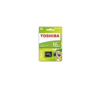 Фотография 2 карты памяти Toshiba M102 MicroSDHC Class 4 16GB + SD-adapter - THN-M102K0160M2