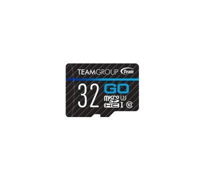 Фото №1 карты памяти Team Go R90/W45MB/s MicroSDHC 32GB UHS-I/U3 Class 10 + SD-adapter — TGUSDH32GU303